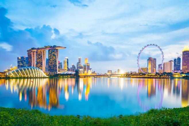 東南アジアにおける経済や金融の中心でもあるシンガポール
