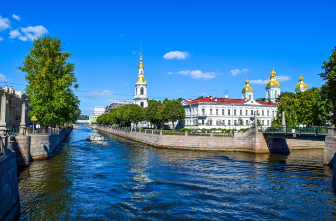 ロシアの都市風景