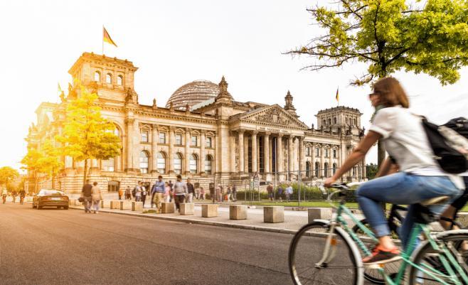 ドイツの都市風景