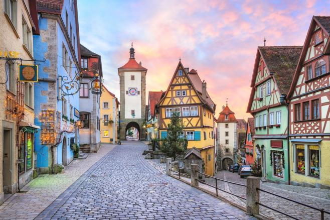 古い文化や建物を大切にしているドイツ