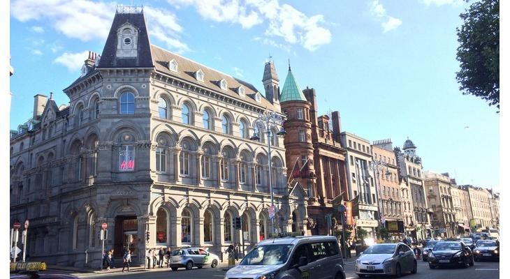 ダブリンのシティセンター