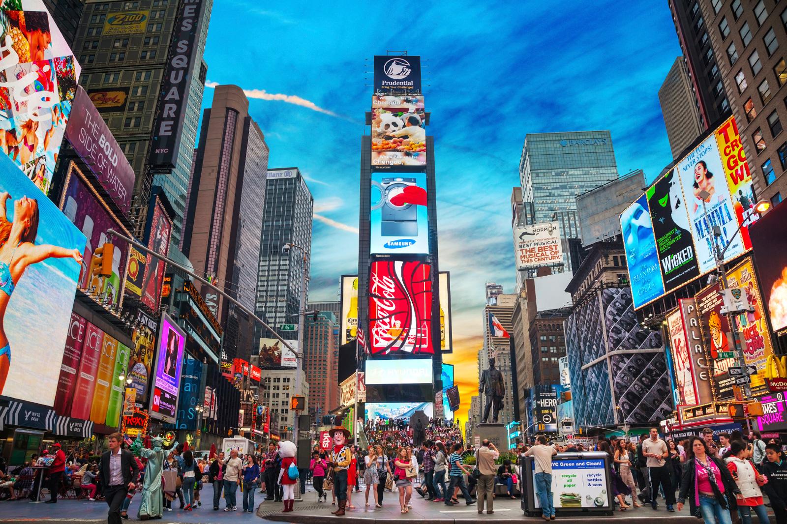 多国籍のニューヨークは毎日が刺激的