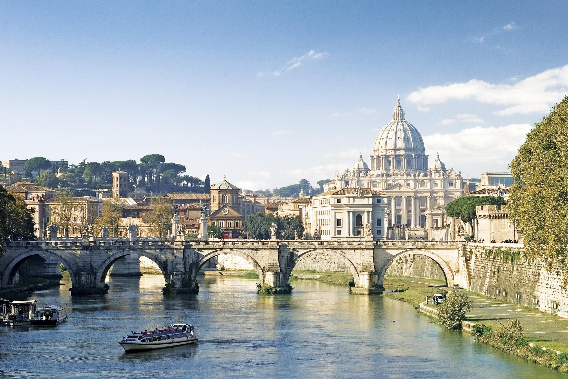 古代ローマの遺跡や建造物