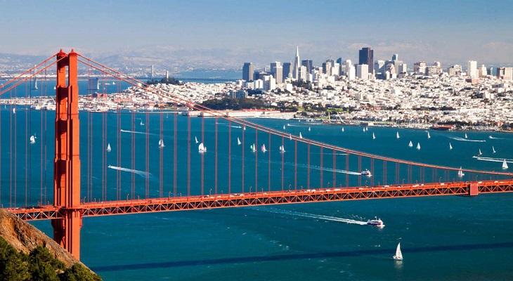 出発地点はサンフランシスコ!