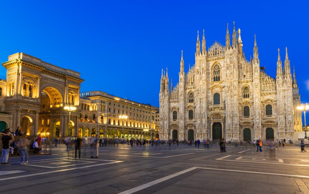 ミラノの象徴、ミラノ大聖堂☆