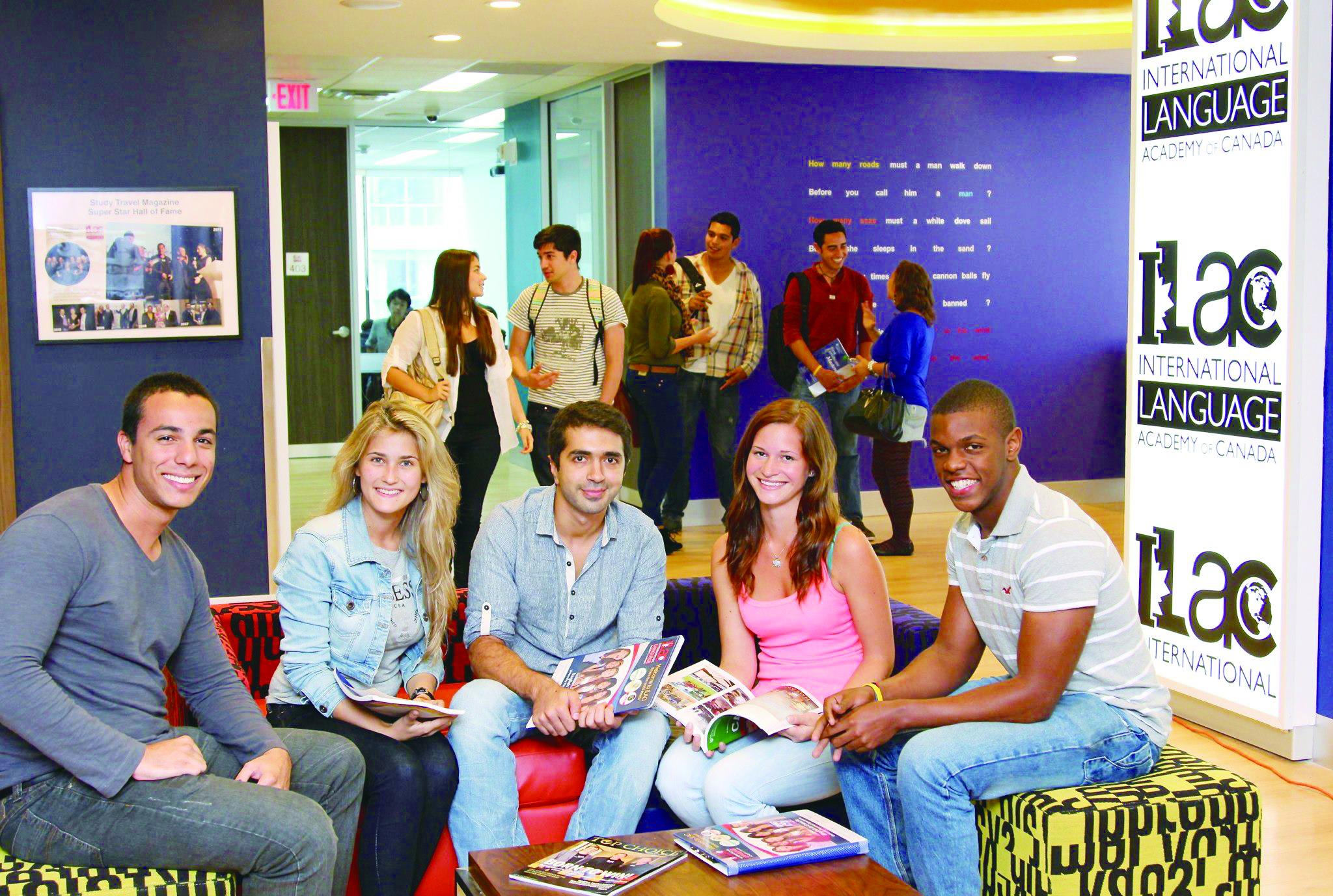 国際色豊かな留学生