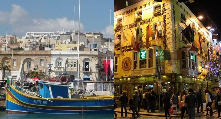 魅力あふれる2都市を同時に体験!