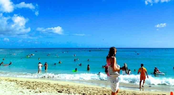ハワイでヨガレッスン♪ロコライフを満喫できる語学留学☆