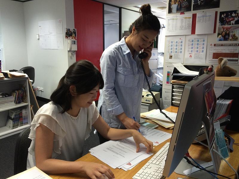 シドニーの現地企業でのインターンを経験できる!