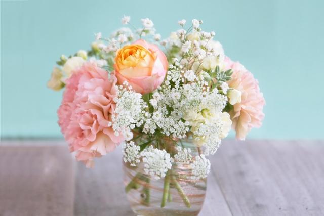 可愛い海外のお花達に囲まれて・・・