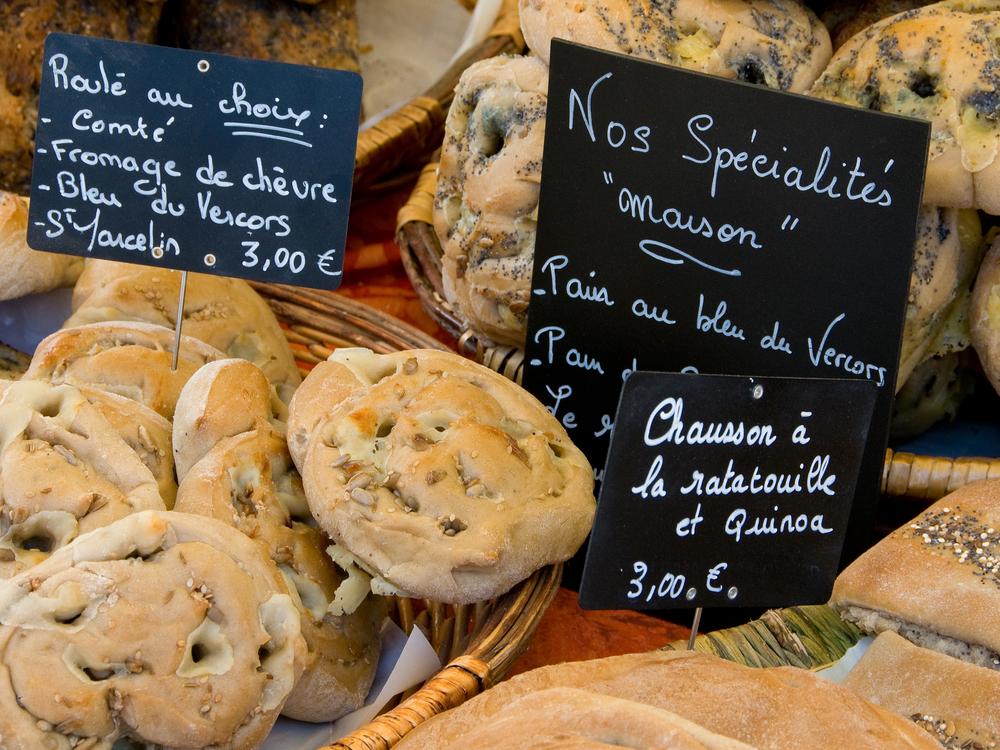 食の都パリでパン作り♪