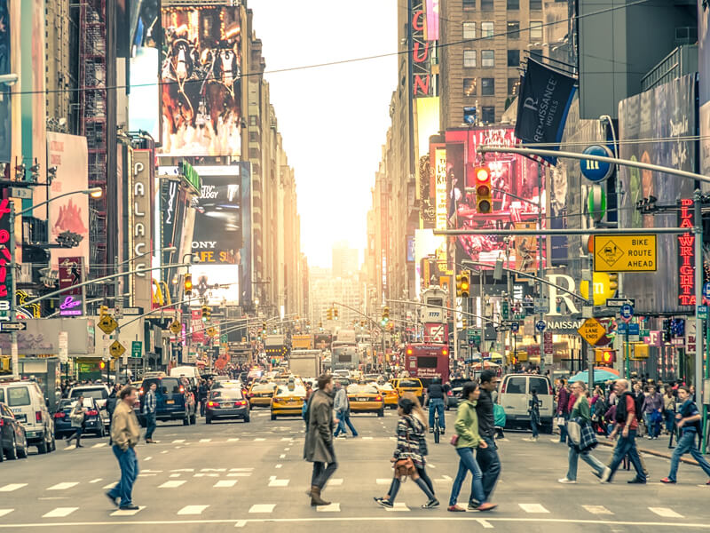 マンハッタンの中心地に位置する最高のロケーション
