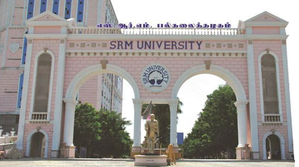 SRM University は、カテゴリーAにランクされる名門大学