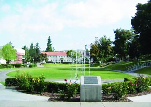 緑に囲まれたかわいいキャンパス♪