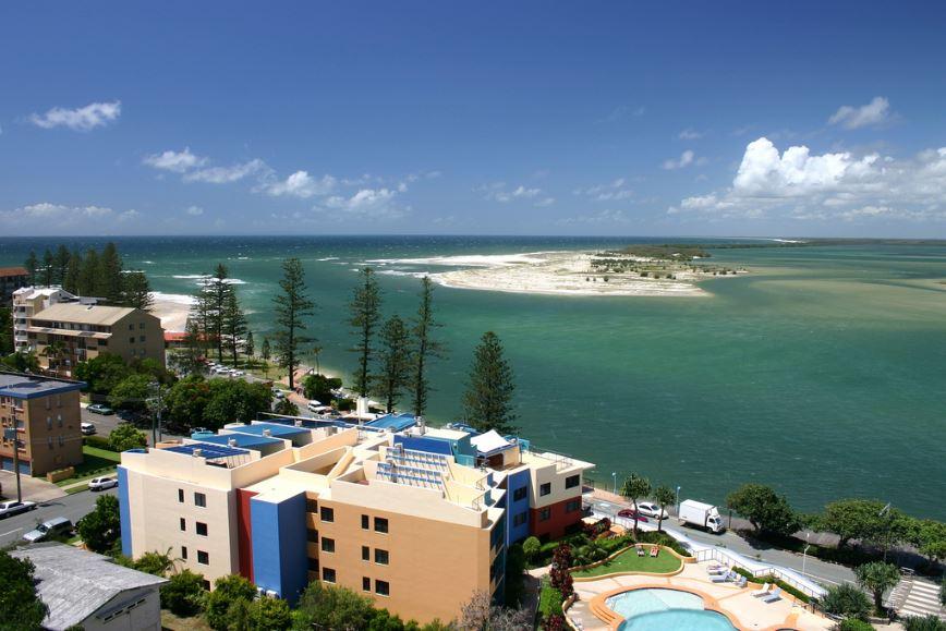 オーストラリアのリゾートビーチ☆サンシャインコーストで語学留学