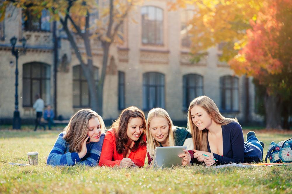 キャンパス内で学生生活を楽しもう!