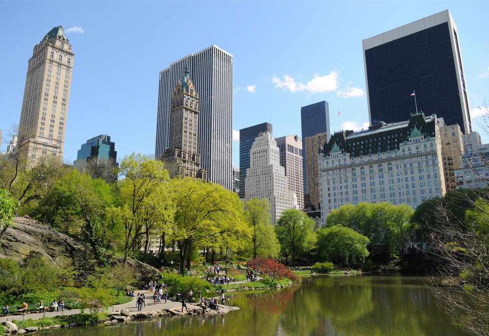 マンハッタンの人々のオアシス、セントラルパーク♡