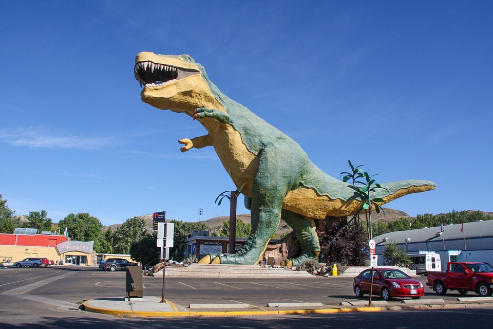 恐竜で有名なアルバータ州カルガリー