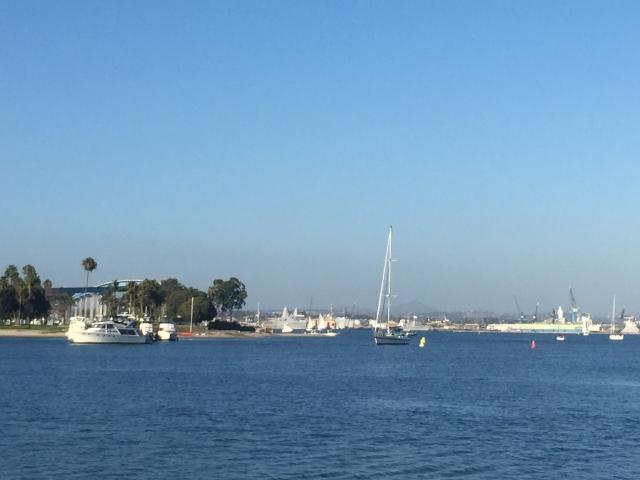 サンディエゴの街の様子