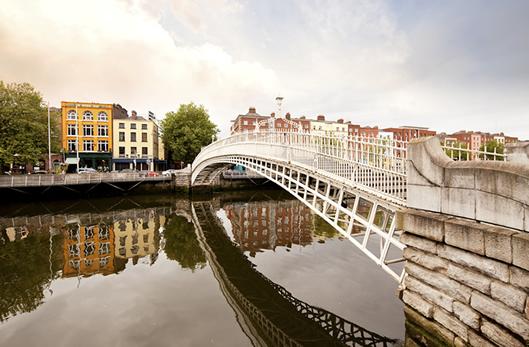 アイルランドの首都ダブリンに長期留学!