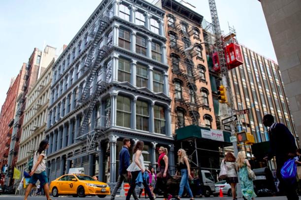 どこを切り取っても絵になるニューヨークの街並み