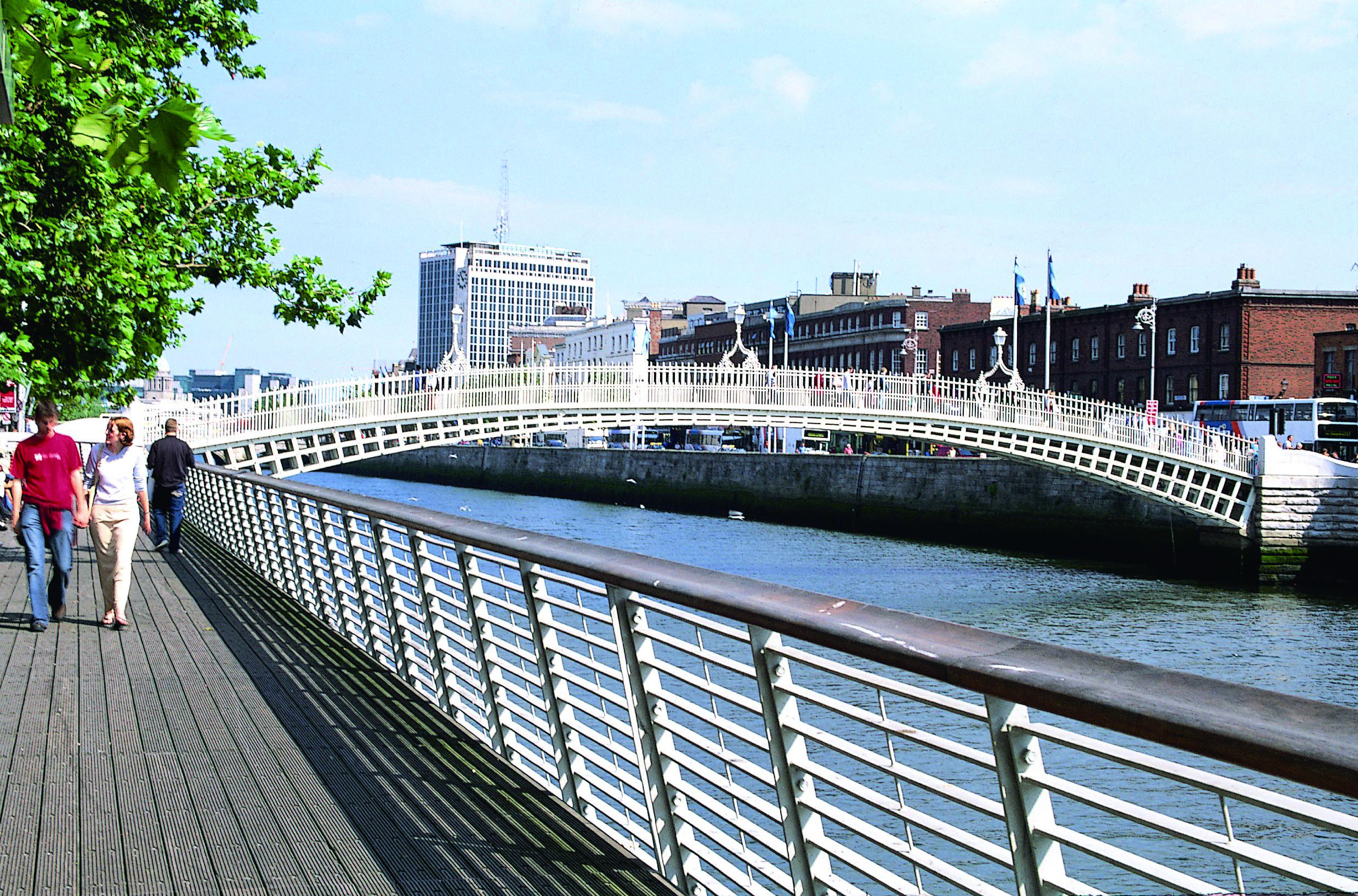 アイルランド、ダブリンの風景