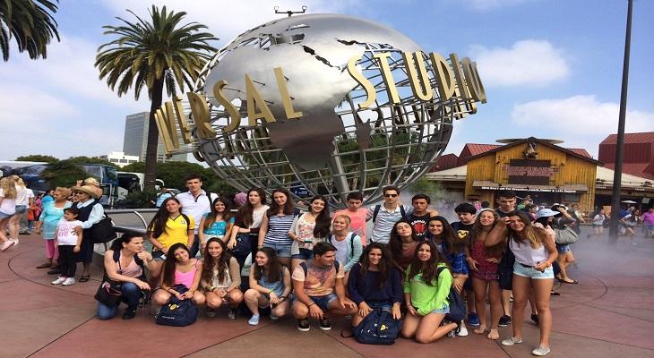 夢のユニバーサルスタジオ・ハリウッドで留学の思い出作り!