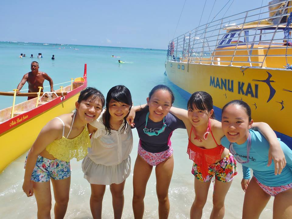 海も近く、楽しい留学生活を送れます