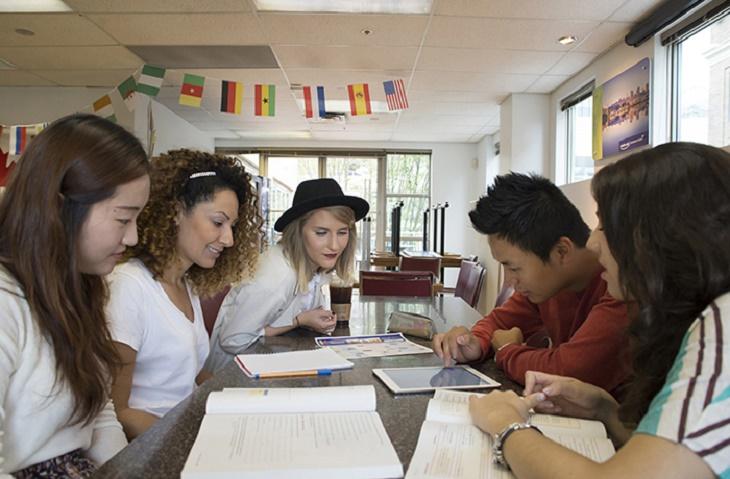 国籍比率のバランスの良い学校