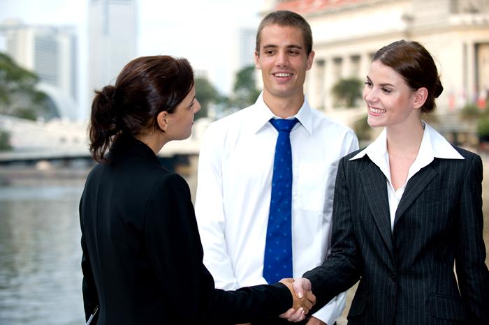 世界中からビジネスエリートが集結!