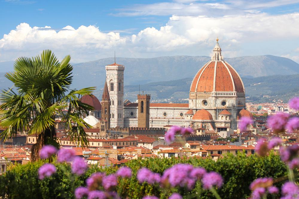 フィレンツエの美しい街並
