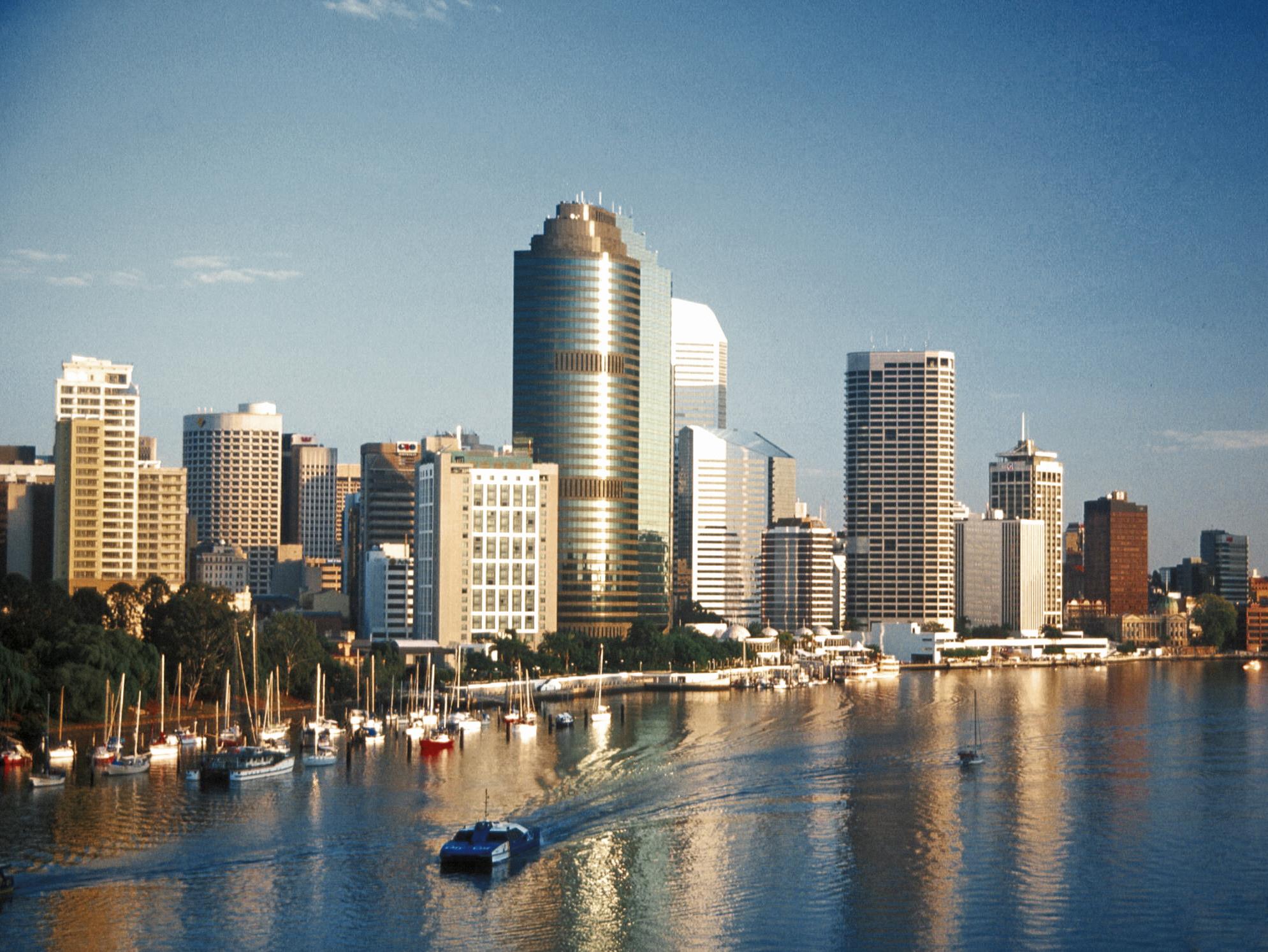 クイーンズランド州の州都ブリスベンは、オーストラリアで3番目に大きな都市!