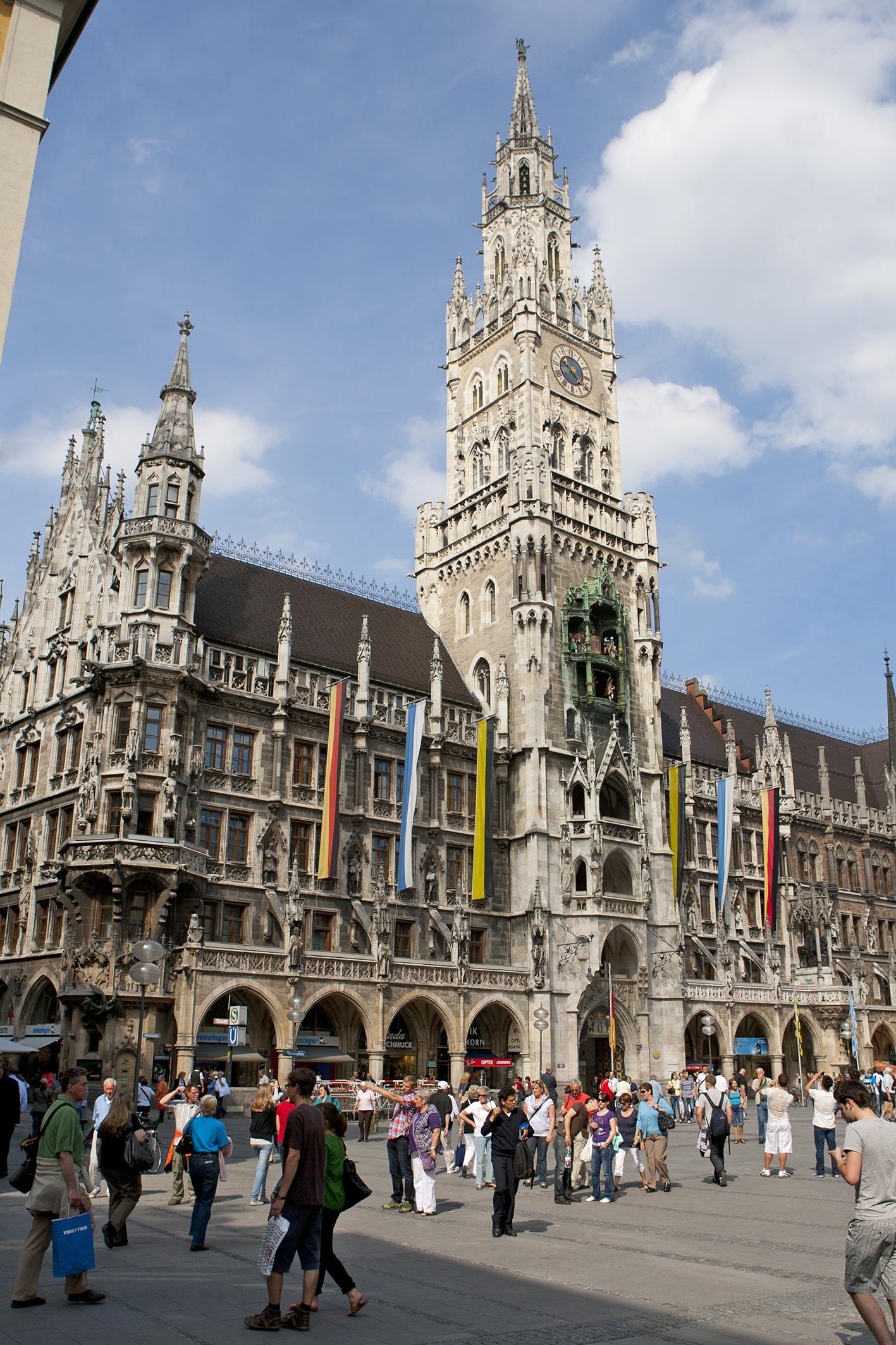 美しいミュンヘンの街でインターンシップ