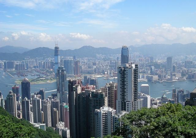 国際都市、香港