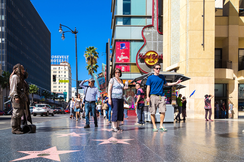 映画の聖地ハリウッドがある西海岸ロサンゼルス