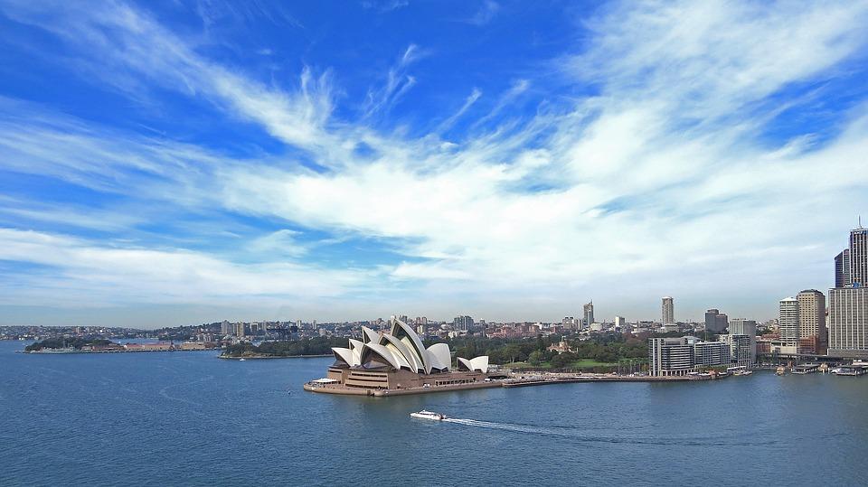 青空がいつも美しい、オーストラリア・シドニー