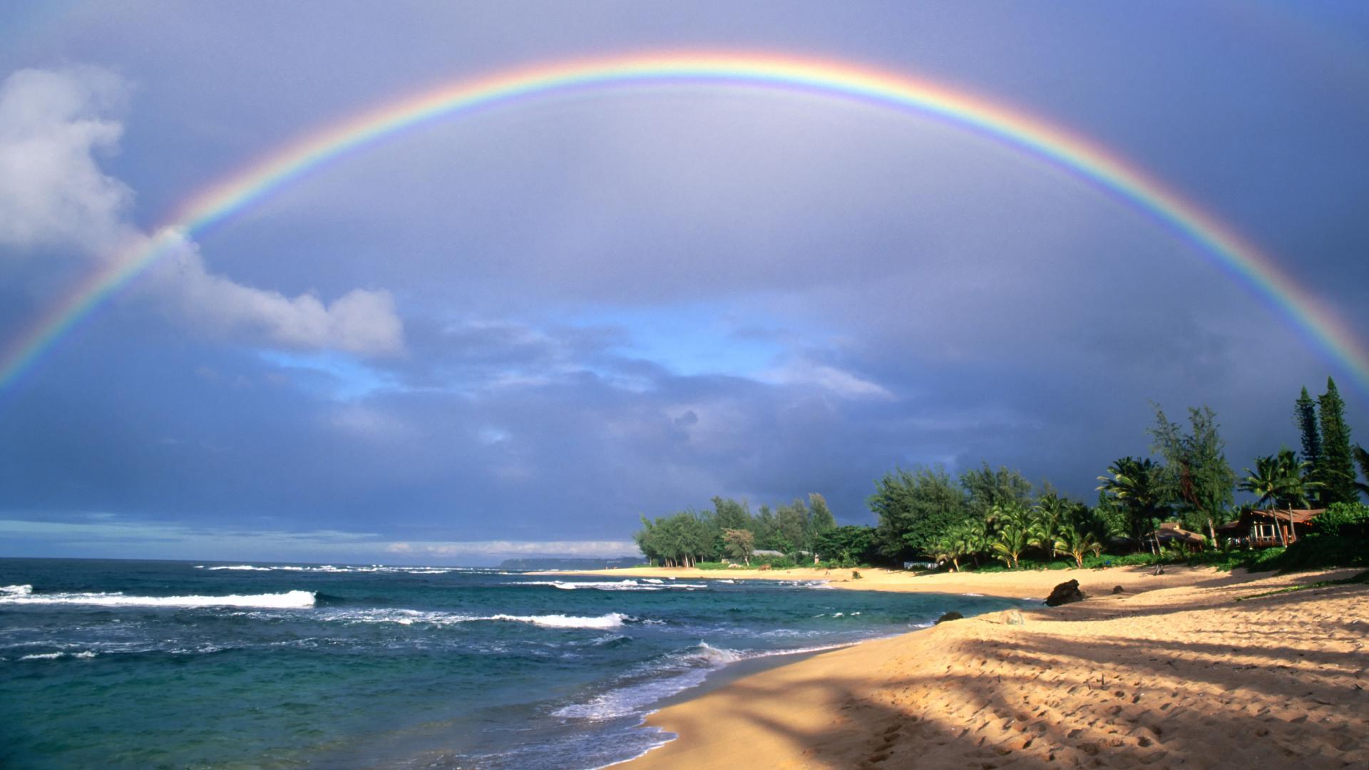 大自然が広がるハワイでは身も心もリフレッシュできます