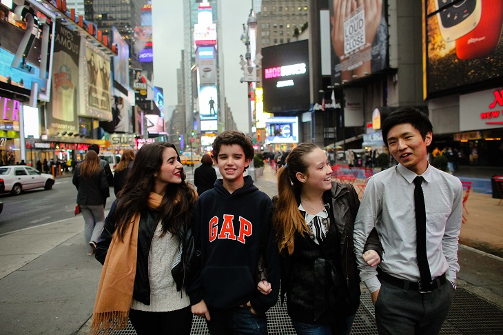 タイムズスクエアも徒歩圏内