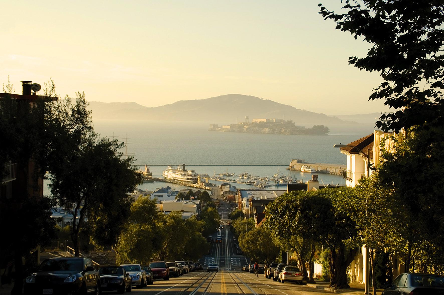 サンフランシスコまで電車で20分