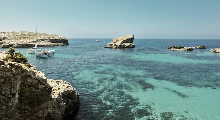 マリンアクティビティが豊富なマルタ島