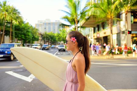 サーフィンをしてから通学♪