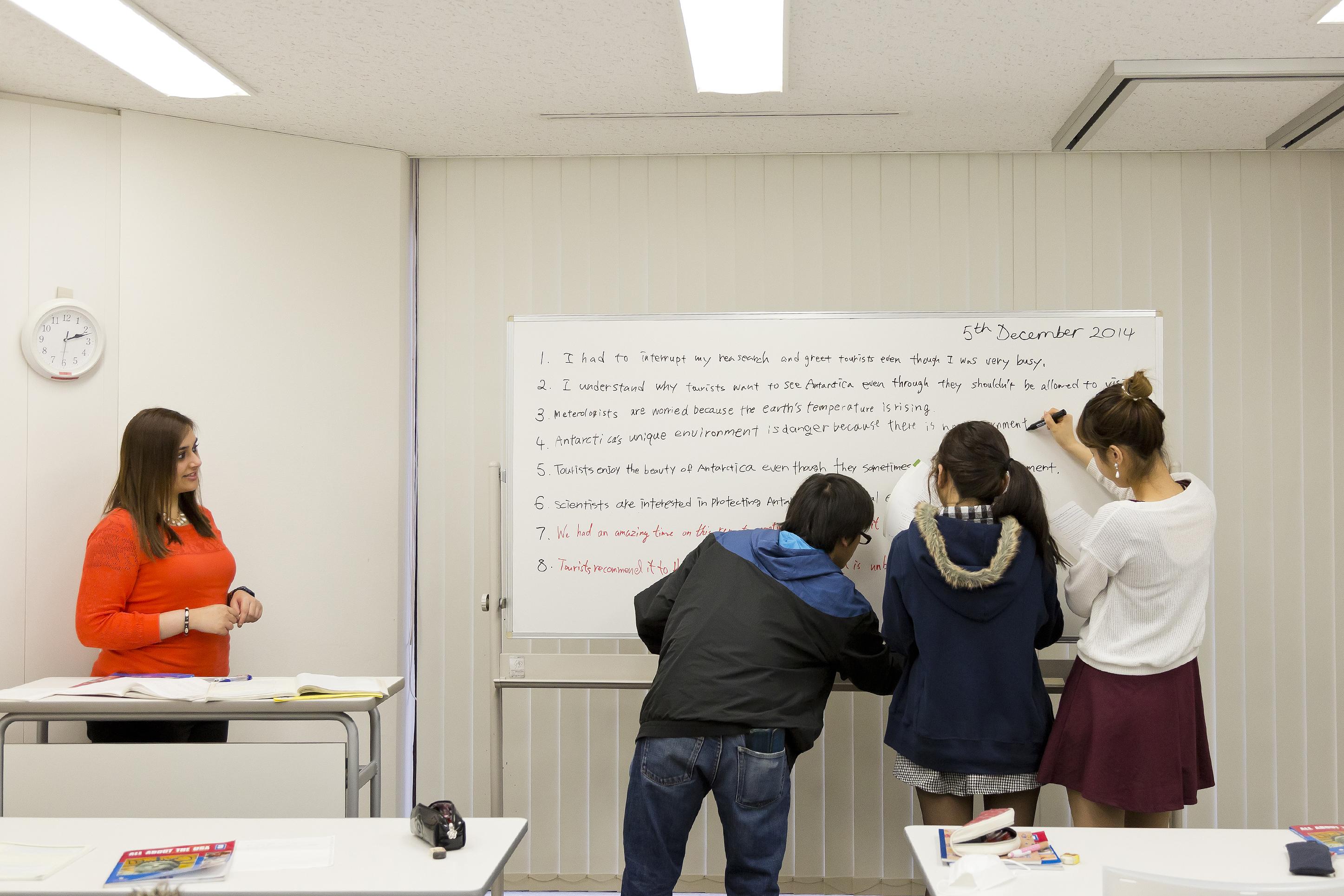 授業の風景