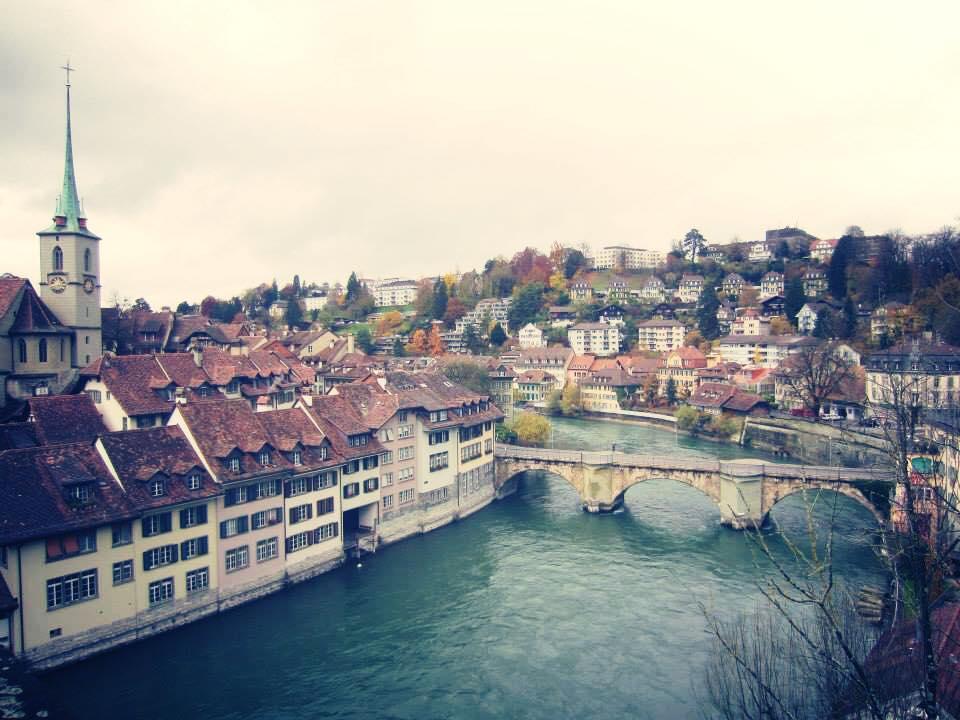 スイス、ベルンの街並み