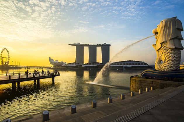 シンガポールの象徴マーライオン☆