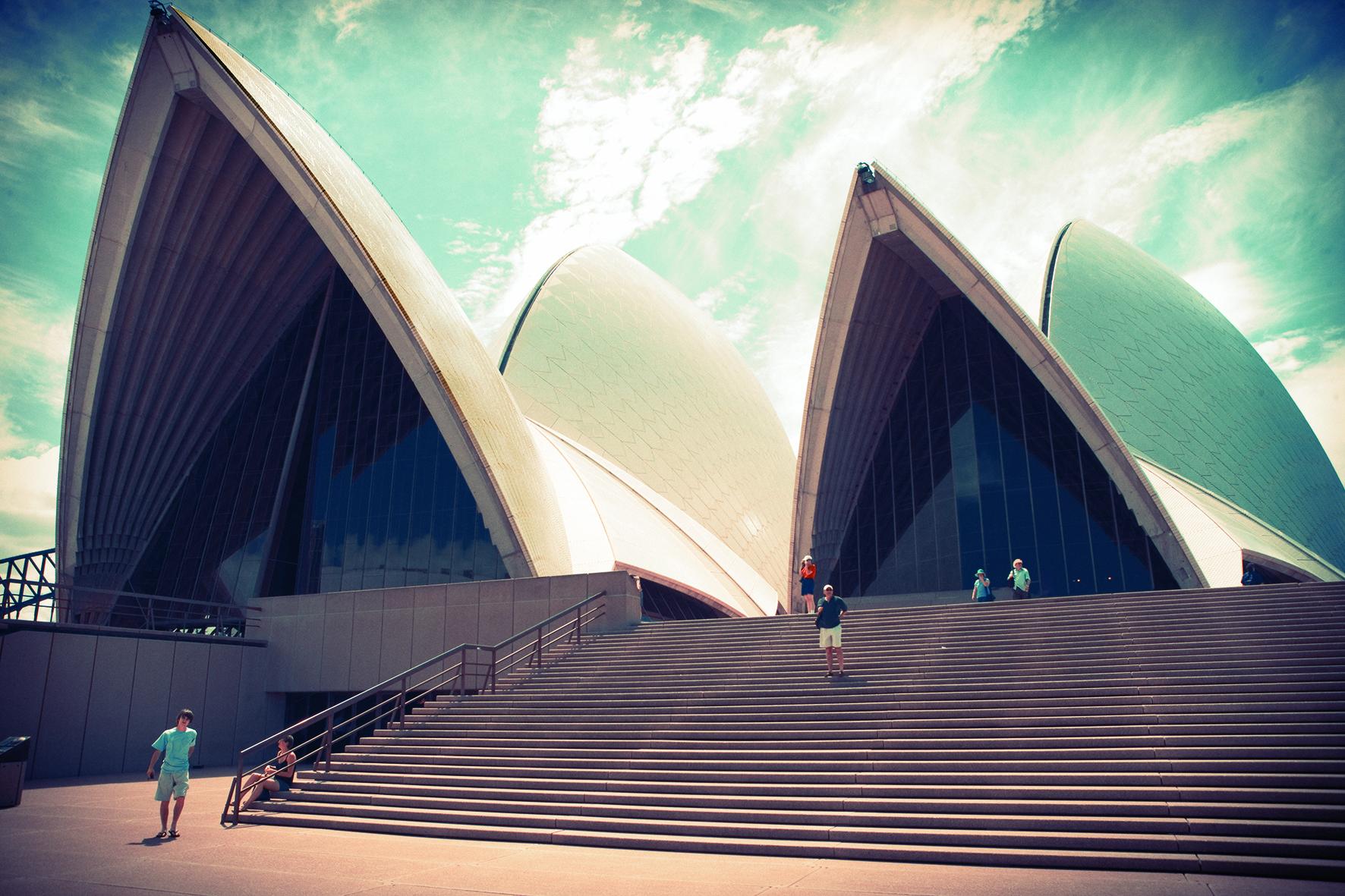 シドニーの街の様子