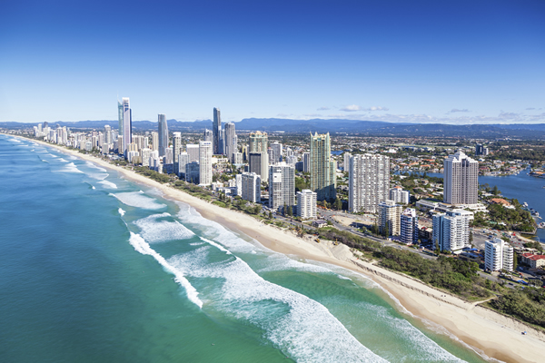 オーストラリア最大の観光保養地ゴールドコースト☆