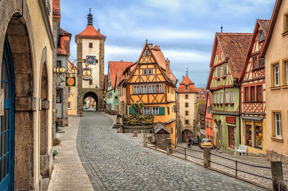 ロマンチック街道はローテンブルグの可愛い街並み♪