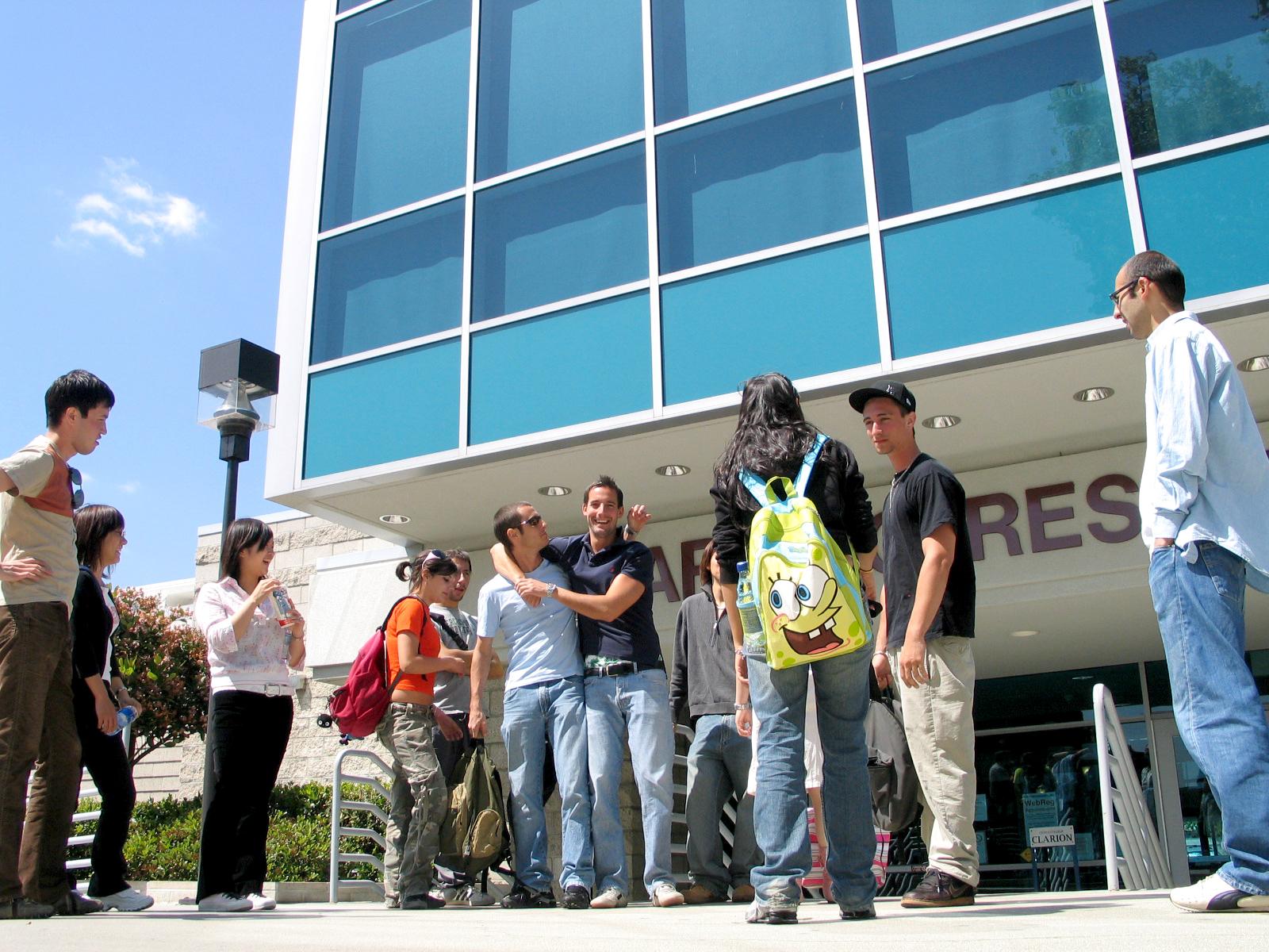 校舎はカリフォルニアの大学の中でも歴史あるシトラスカレッジ