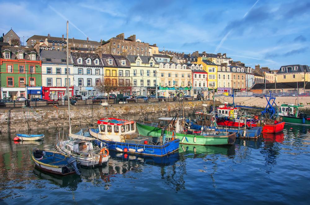アイルランドの美しい街並