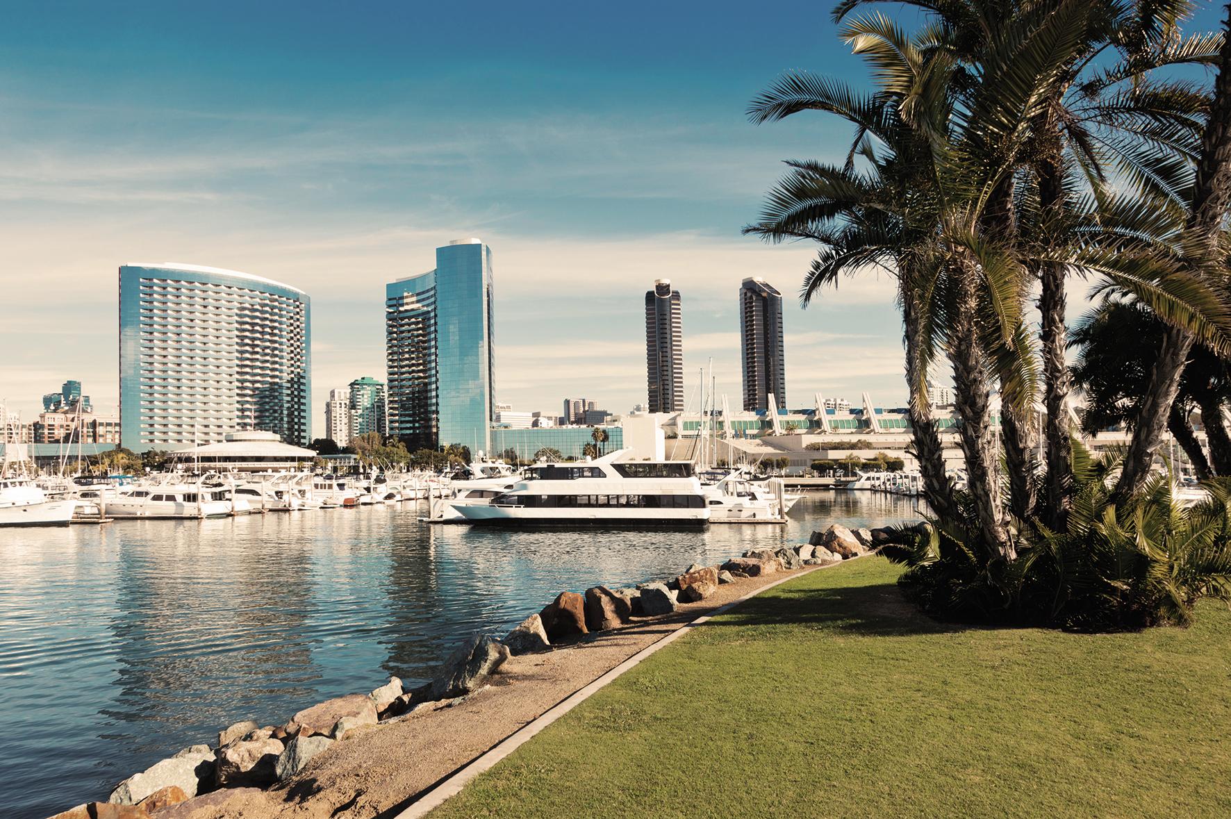 スペイン風建築が綺麗な街、サンディエゴ☆